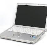 【修理実例】Panasonic LetsNote CF-S9 |画面真っ暗で矢印だけ出る|HDD不良