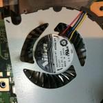 【修理実例】Fujitsu FMV-A77KW 本体から異臭がする |CPUFANの交換