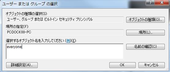 アクセス権