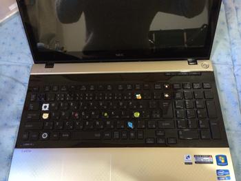 LS550キーボード